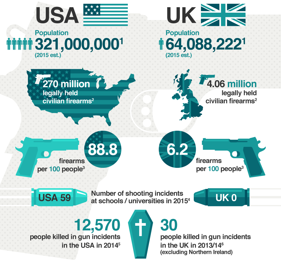 why guns should not be banned in america