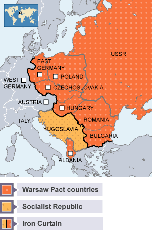 BBC Bitesize - Higher History - Soviet policy in Eastern Europe ...