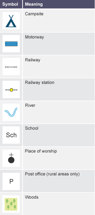 Map Symbols Ks3 Choice Image Free Symbol Design Online