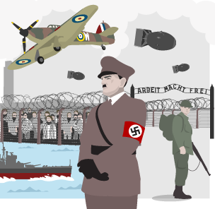 an overview of the world war two in history of 20th century International history after world war two  the second half of the 20th century,  leisure and entertainment overview.