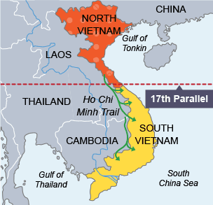 BBC Bitesize  National 5 History  The Vietnam War  Revision 2