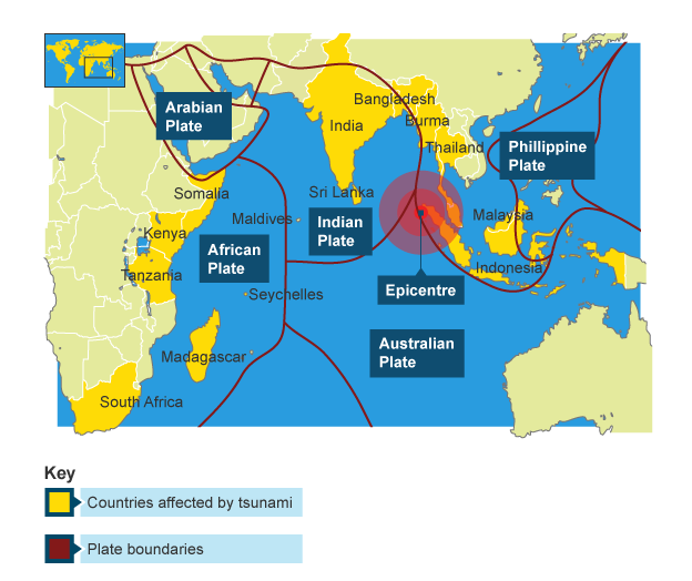 BBC Bitesize  KS3 Geography  Tsunamis  Revision 1
