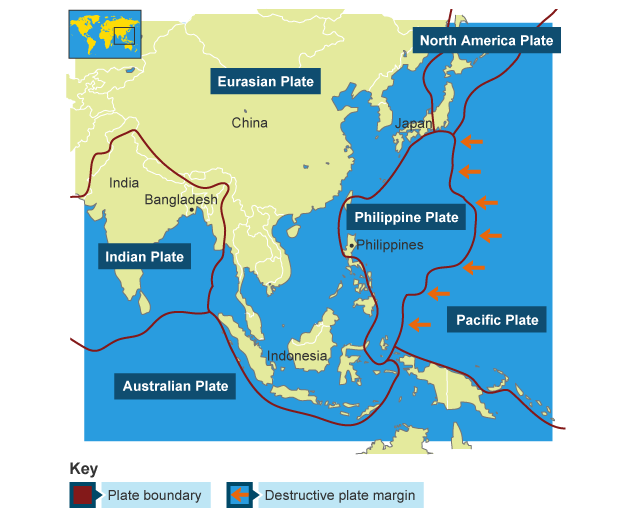 BBC Bitesize  KS3 Geography  Natural hazards in Asia  Revision 1
